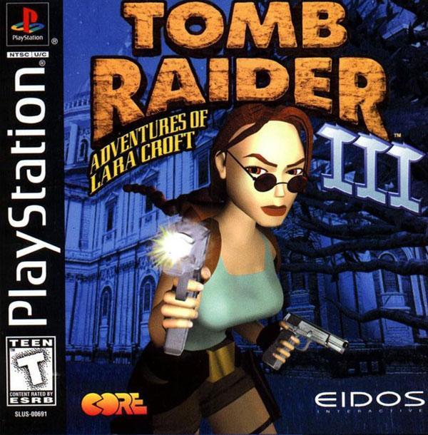 Tomb Raider 3 - Adventures of Lara Croft [U] [SLUS-00691] front cover