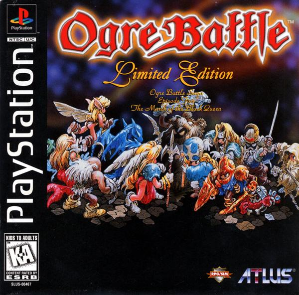 Ogre Battle - Ep.5 - The March of the Black Queen [Limited Edition] [U] [SLUS-00467] front cover