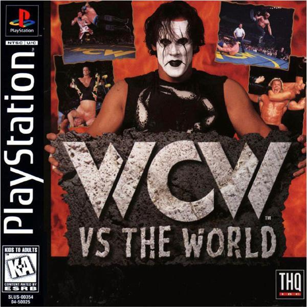 WCW vs. The World [U] [SLUS-00455] front cover