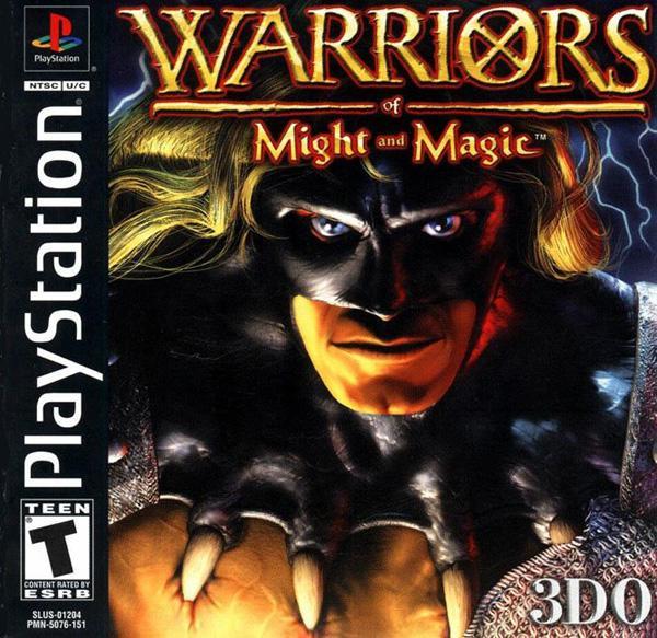 Warriors of Might & Magic [U] [SLUS-01204] front cover