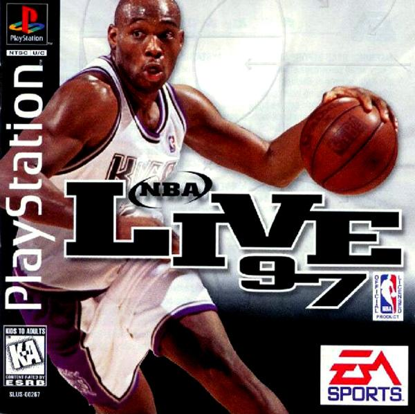 NBA Live '97 [U] [SLUS-00267] front cover