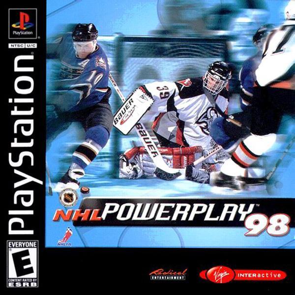 NHL Powerplay '98 [U] [SLUS-00528] front cover