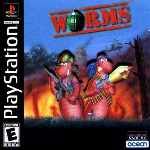 Worms [U] [SLUS-00336] front cover