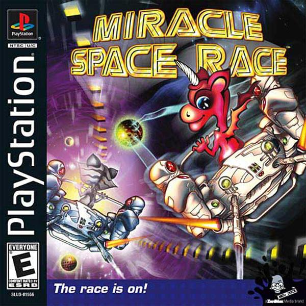 Miracle Space Race [SLUS-01556] front cover