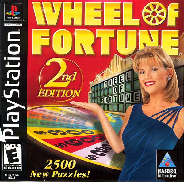 Wheel of Fortune - 2nd Edition [U] [SLUS-01174] front cover