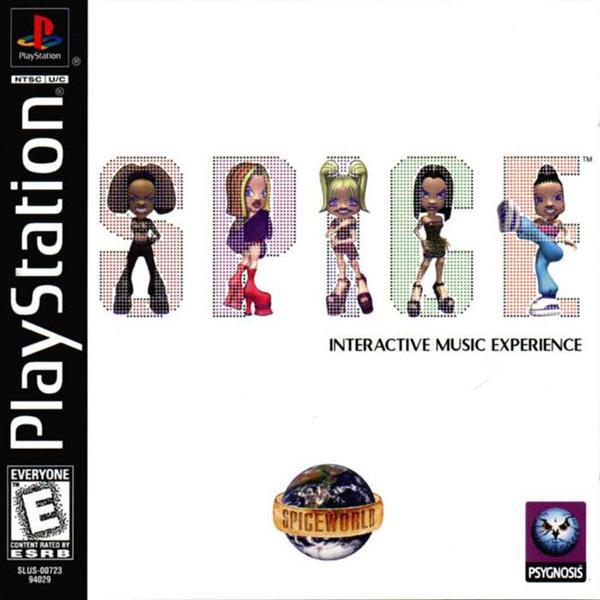Spice World [U] [SLUS-00723] front cover