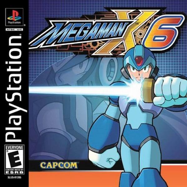 MegaMan X6 [U] [SLUS-01395] front cover