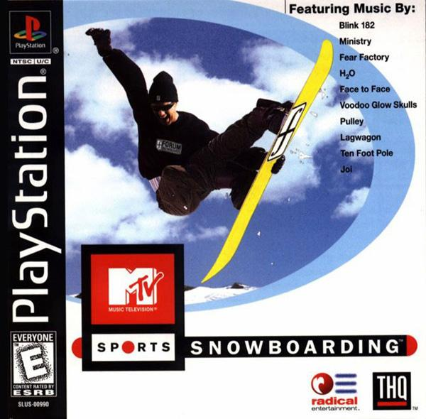 MTV Sports - Snowboarding [U] [SLUS-00990] front cover
