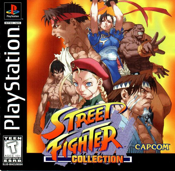 Street Fighter Collection [Disc1of2] [U] [SLUS-00423] front cover