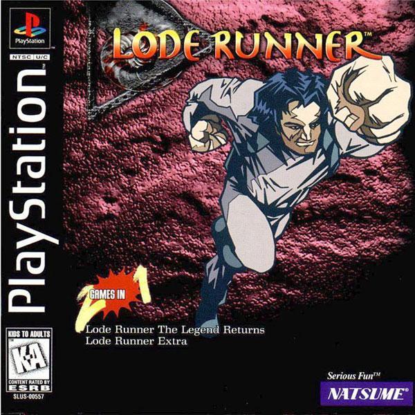 Lode Runner [U] [SLUS-00557] front cover
