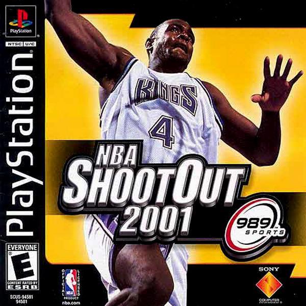 NBA ShootOut 2001 [U] [SCUS-94581] front cover