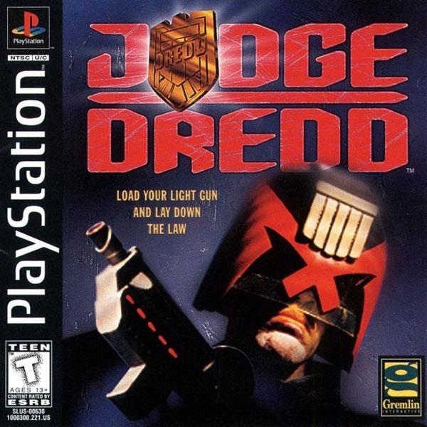 Judge Dredd [U] [SLUS-00630] front cover