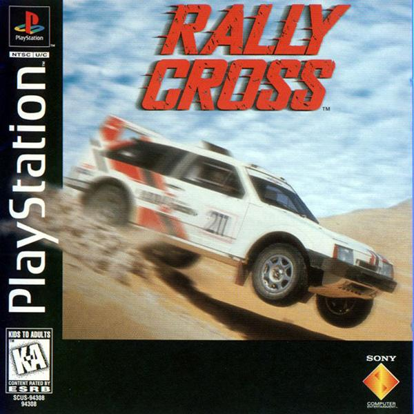 Rally Cross [U] [SCUS-94308] front cover