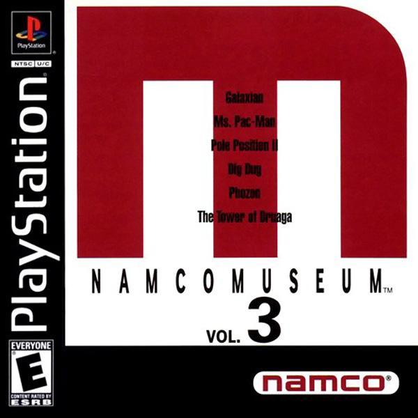 Namco Museum Vol.3 [U] [SLUS-00398] front cover