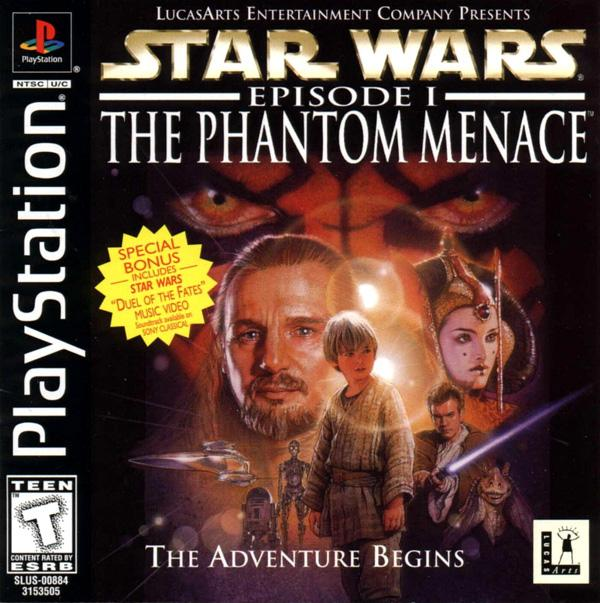Star Wars - Episode I - The Phantom Menace [U] [SLUS-00884] front cover