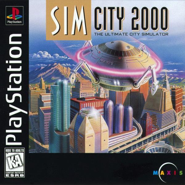 Sim City 2000 [U] [SLUS-00113] front cover