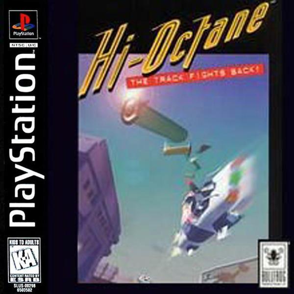 Hi-Octane - The Track Fights Back [U] [SLUS-00157] front cover