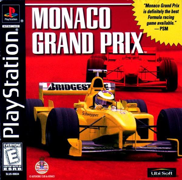 Monaco Grand Prix [U] [SLUS-00834] front cover