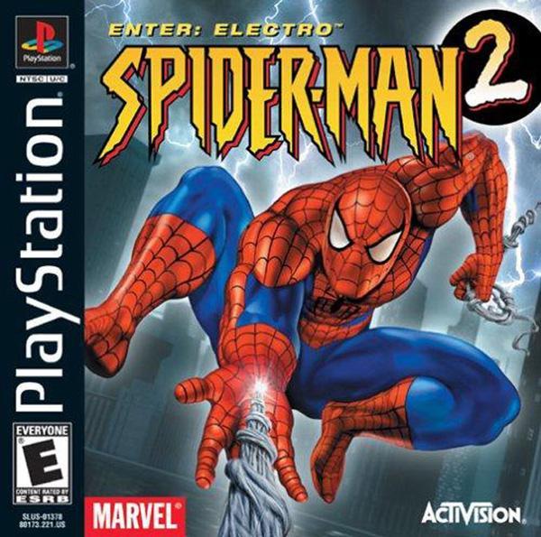 Spiderman 2 - Enter Electro [U] [SLUS-01378] front cover