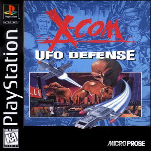 X-Com - UFO Defense [U] [SLUS-00141] front cover