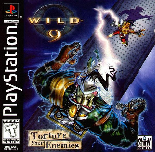Wild 9 [U] [SLUS-00425] front cover