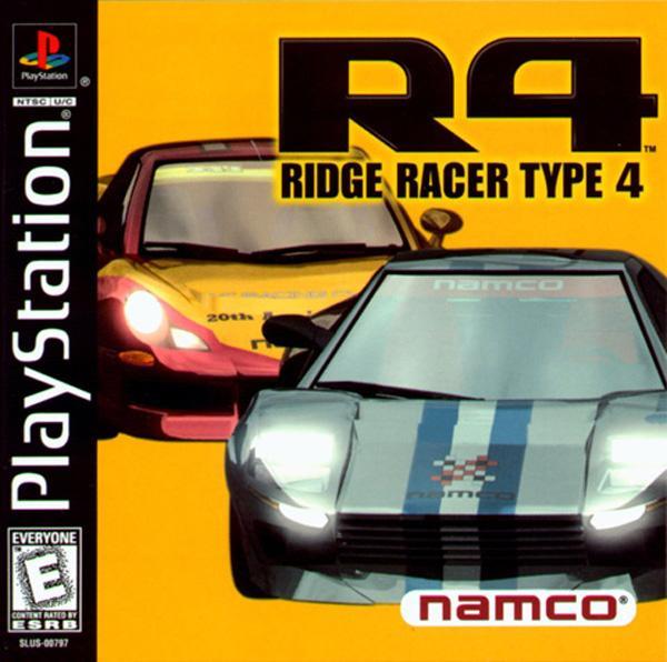 Ridge Racer Type 4 [U] [SLUS-00797] front cover
