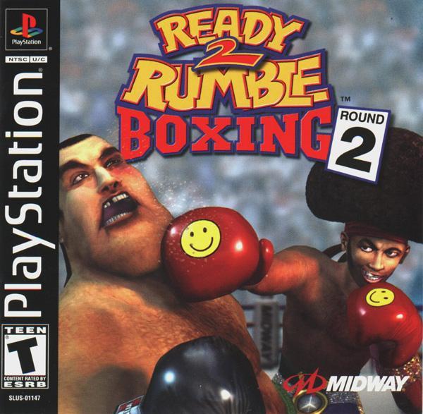 Ready 2 Rumble Boxing - Round 2 [U] [SLUS-01147] front cover