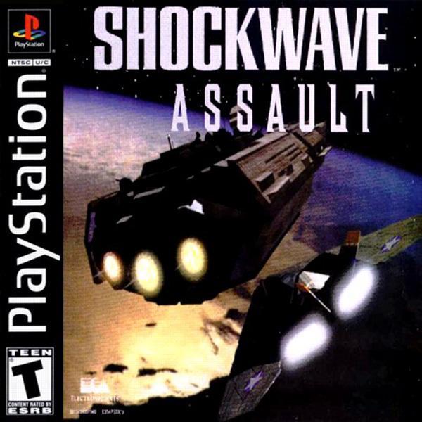 Shockwave Assault [U] [SLUS-00028] front cover