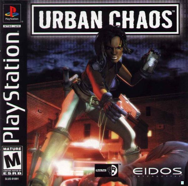 Urban Chaos [U] [SLUS-01019] front cover