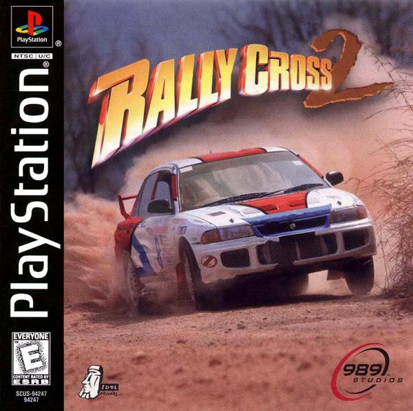Rally Cross 2 [U] [SCUS-94247] front cover