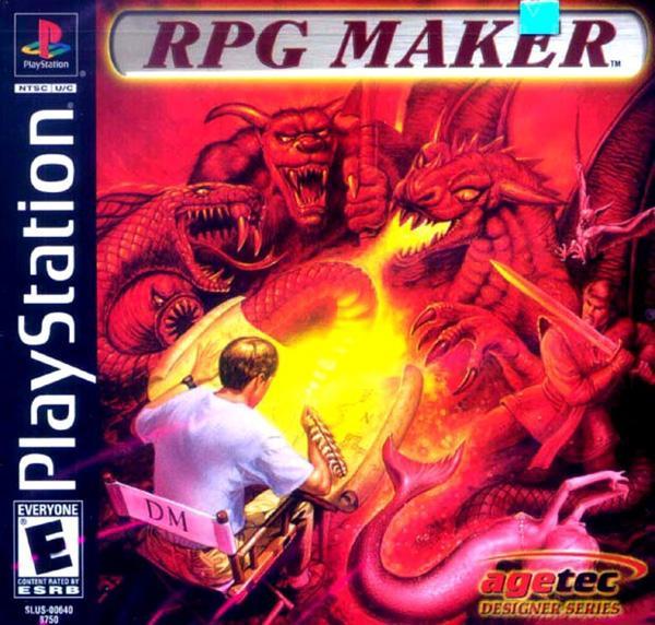 RPG Maker [U] [SLUS-00640] front cover