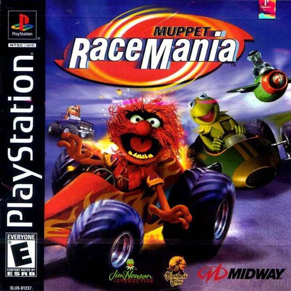 Muppet Racing Mania [U] [SLUS-01237] front cover