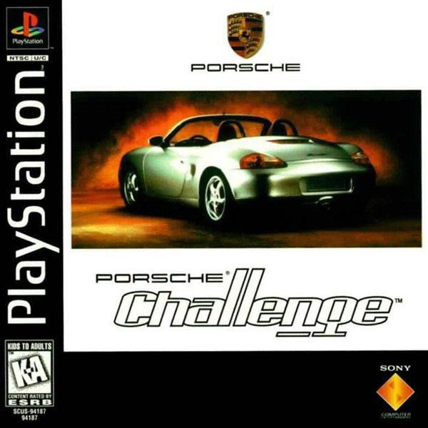 Porsche Challenge [U] [SCUS-94187] front cover