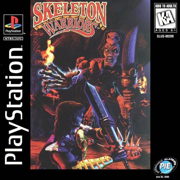 Skeleton Warriors [U] [SLUS-00209] front cover