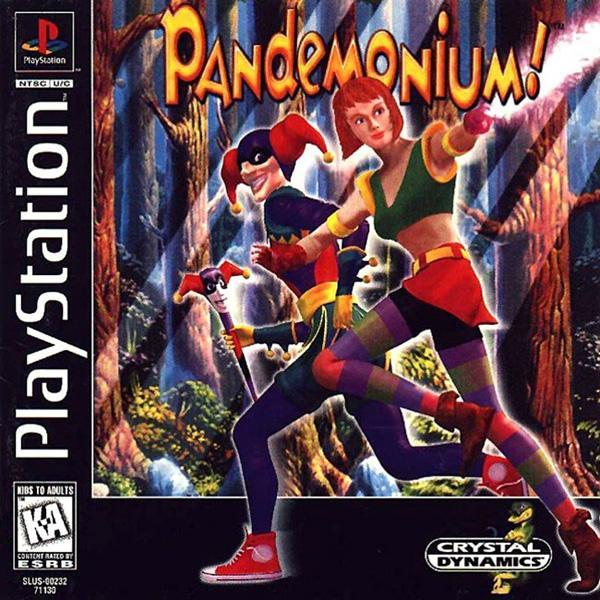 Pandemonium! [U] [SLUS-00232] front cover