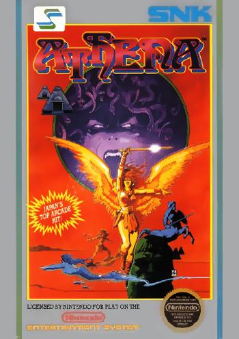 Athena (USA) cover
