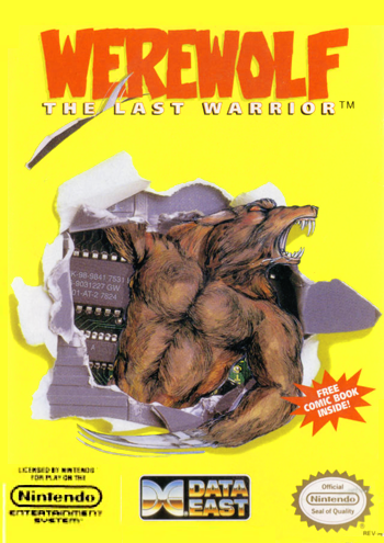 Werewolf - The Last Warrior (USA) cover