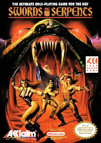 Swords and Serpents (USA) cover