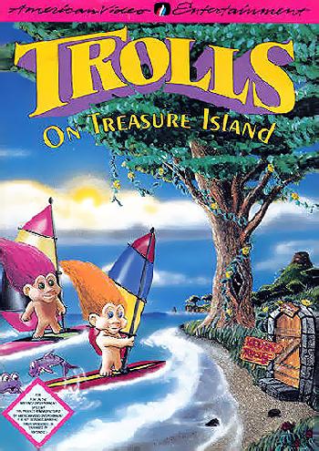 Trolls on Treasure Island (USA) (Unl) cover