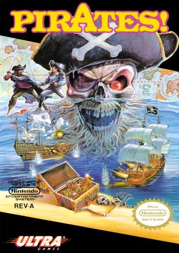 Pirates! (USA) cover