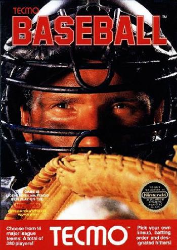 Tecmo Baseball (USA) cover