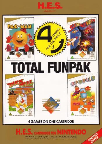 Total Funpak (Australia) (Unl) cover