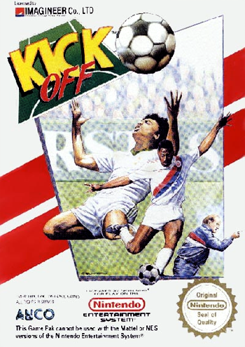 Kick Off (Europe) cover