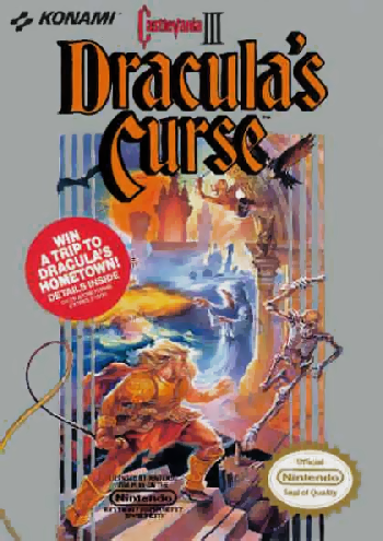 Castlevania III - Dracula's Curse (USA) cover