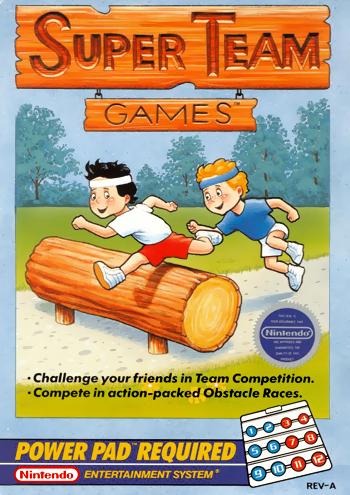 Super Team Games (USA) cover