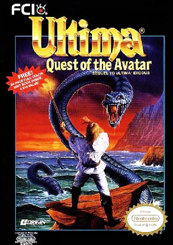 Ultima - Quest of the Avatar (USA) cover