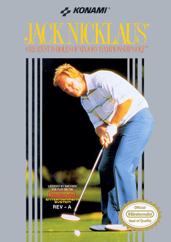 Jack Nicklaus' Greatest 18 Holes of Major Championship Golf (USA) cover