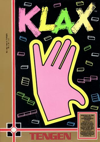 Klax (USA) (Unl) cover