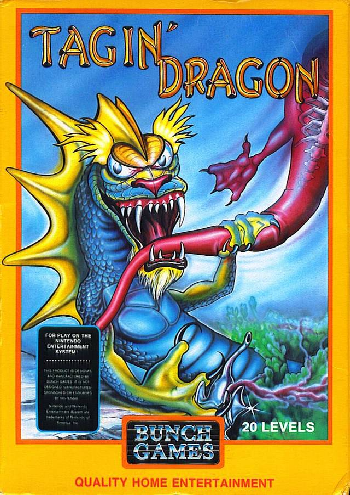 Tagin' Dragon (USA) (Unl) cover