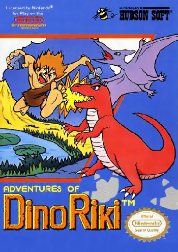 Adventures of Dino Riki, The (USA) cover